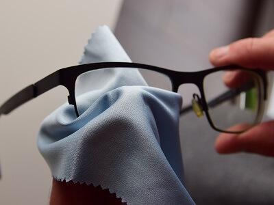 Brillenputztuch - So verwendest Du das Mikofasertuch richtig